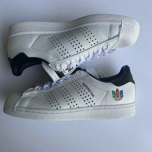 "Adidas Originals Superstar ""Colorful Trefoil"""